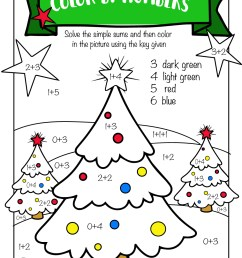 Free Printable Christmas Math Worksheets: Pre K [ 1294 x 1000 Pixel ]