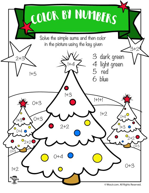 small resolution of Free Printable Christmas Math Worksheets: Pre K