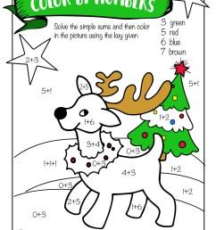 Free Printable Christmas Math Worksheets: Pre K [ 1294 x 1000 Pixel ]