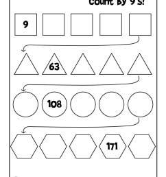 Simple Skip Counting Worksheets to Print   Woo! Jr. Kids Activities [ 1294 x 1000 Pixel ]