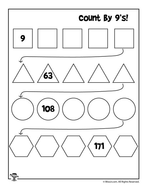 small resolution of Simple Skip Counting Worksheets to Print   Woo! Jr. Kids Activities