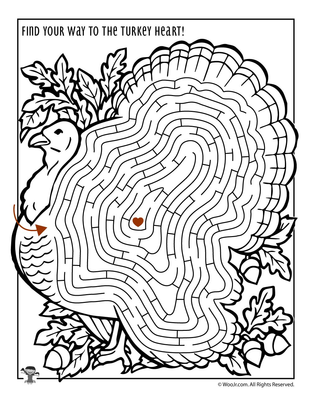 Printable Thanksgiving Activity Pages And Coloring Pages Woo Jr Kids Activities