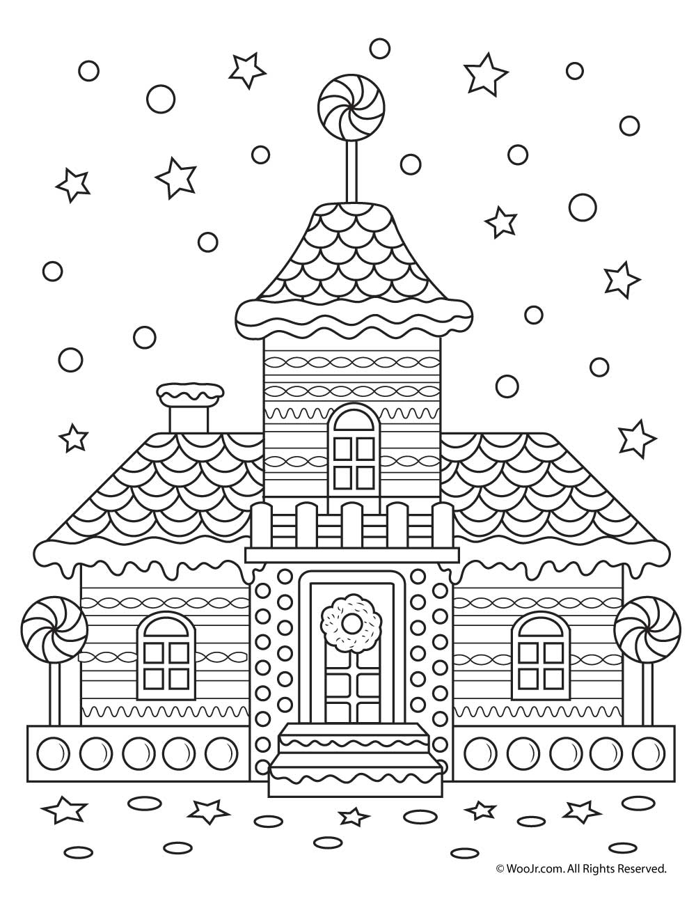 Gingerbread House Worksheets For Preschoolers. Gingerbread