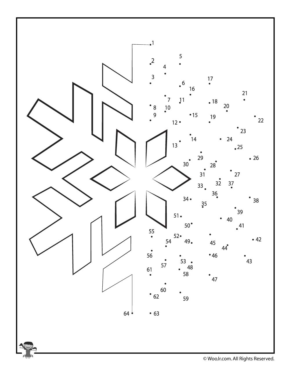 medium resolution of Christmas Connect the Dots Worksheets   Woo! Jr. Kids Activities