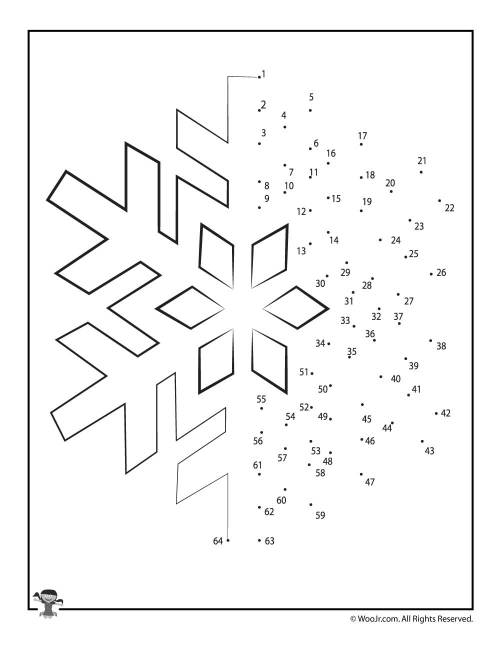 small resolution of Christmas Connect the Dots Worksheets   Woo! Jr. Kids Activities