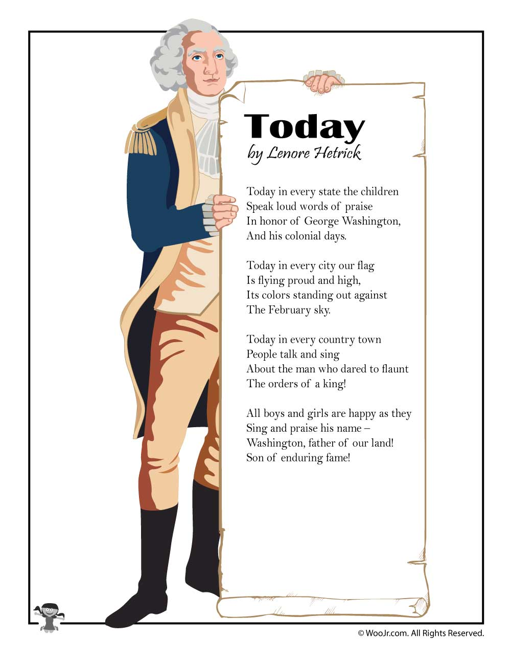 hight resolution of Kids Poems for Presidents Day   Woo! Jr. Kids Activities