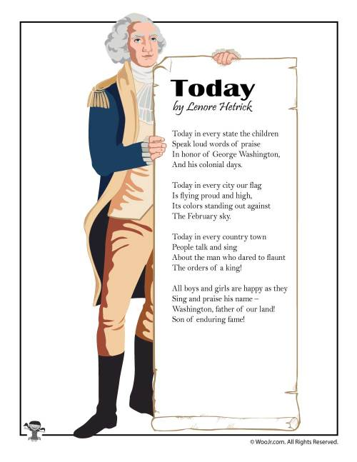small resolution of Kids Poems for Presidents Day   Woo! Jr. Kids Activities