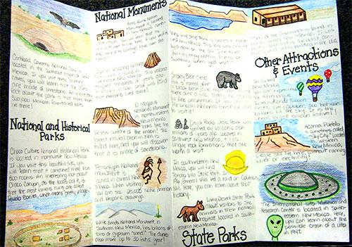 Travel Brochure Project Woo! Jr Kids Activities