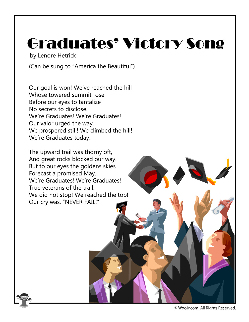 graduates victory song or