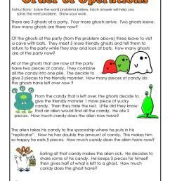 Halloween Math Monsters 3rd Grade   Woo! Jr. Kids Activities [ 1294 x 1000 Pixel ]