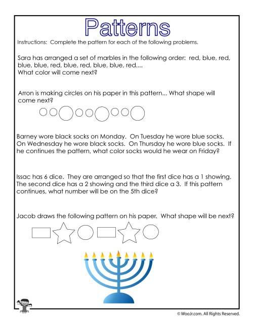 small resolution of Hanukkah Math Story Problems Worksheet   Woo! Jr. Kids Activities