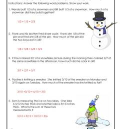 3rd Grade Math Common Core Worksheets - ANSWER KEY   Woo! Jr. Kids  Activities [ 1294 x 1000 Pixel ]