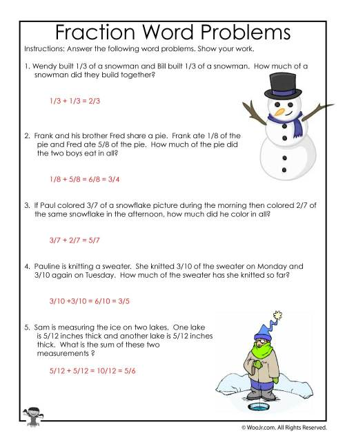 small resolution of 3rd Grade Math Common Core Worksheets - ANSWER KEY   Woo! Jr. Kids  Activities