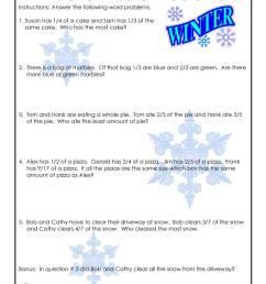 3rd Grade Fractions Math Worksheet   Woo! Jr. Kids Activities [ 1294 x 1000 Pixel ]