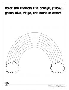 Spring Preschool Worksheets for Shape Recognition