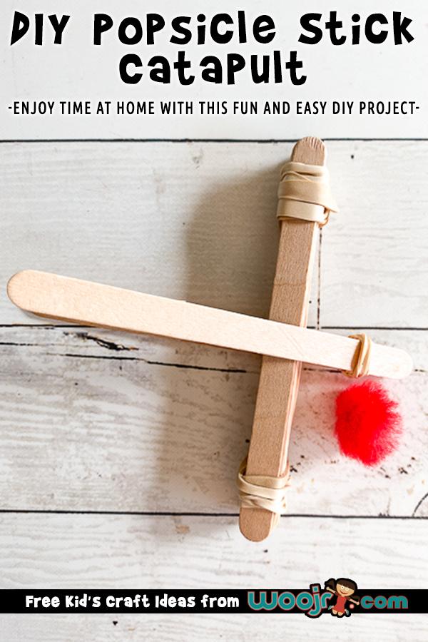 Diy Popsicle Stick Catapult Project Woo Jr Kids Activities