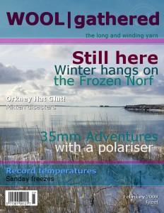 February Magazine Cover