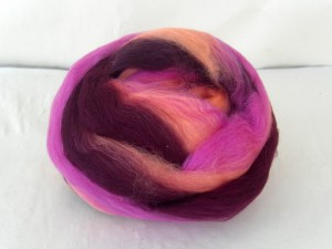 Mango Berry - 100% Merino fibre custom blended  by Copperpot