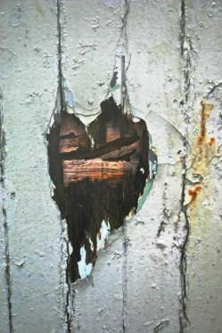 Detail from door