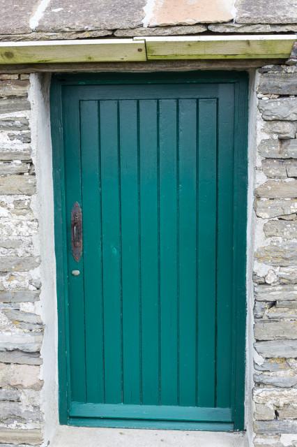 The Croft doorway