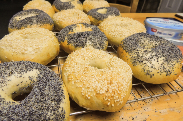 12-minute bagels