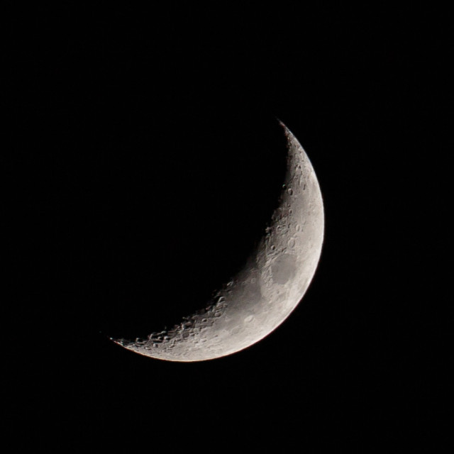 I was also out shooting the moon in some unusually (for us, anyway) calm and clear conditions