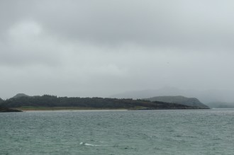 The weather closed in at Gairloch
