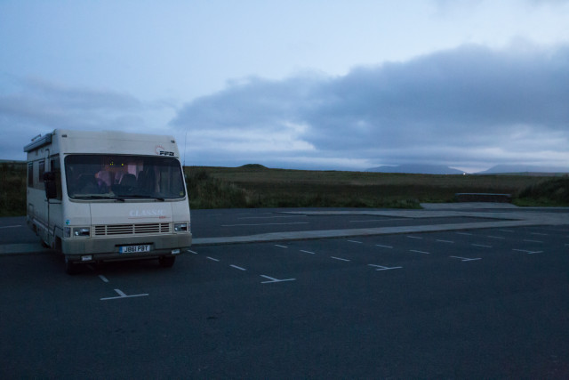 Bruni settled at Brodgar for the night