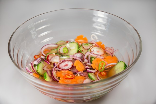 Thai Pickled Veg