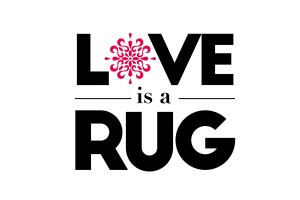 Love Is A Rug Logo Identity