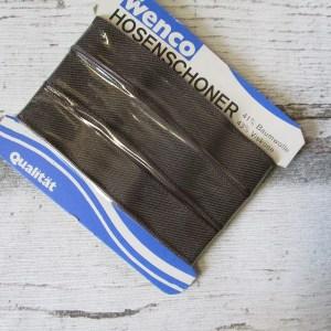 Hosenschonerband Wenco graubraun 15mm - Woolnerd
