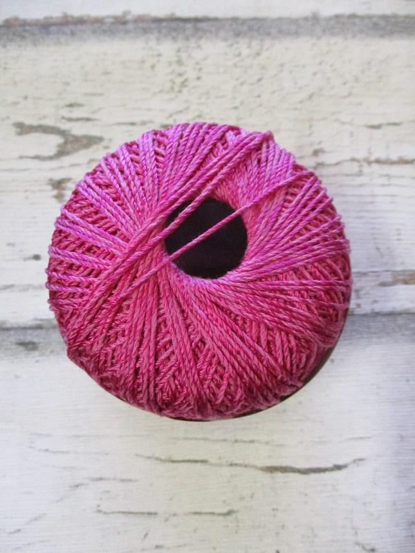 Wolle Strickgarn Iris 67%Viskose 33umwolle Farbe_4 pink - Woolnerd