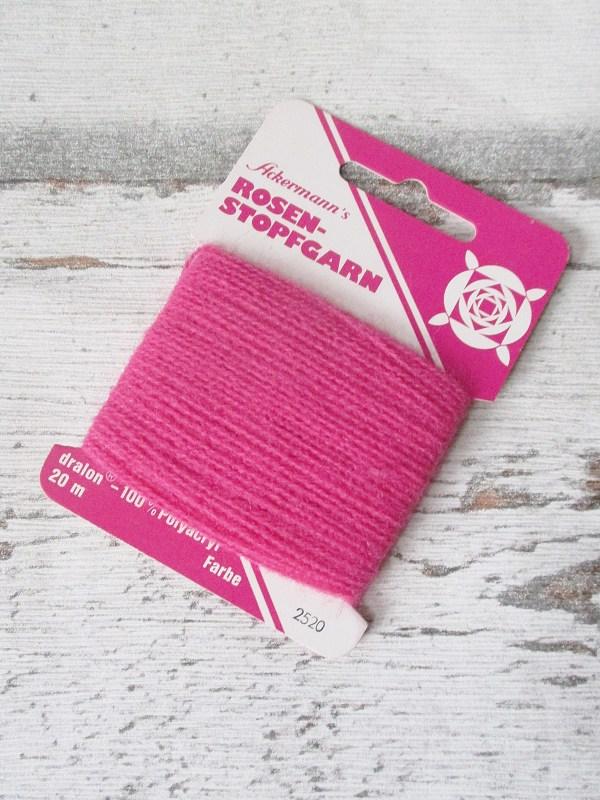 Rosen-Stopfgarn Ackermann Dralon Polyacryl 20m Farbe_2520 rosa - Woolnerd