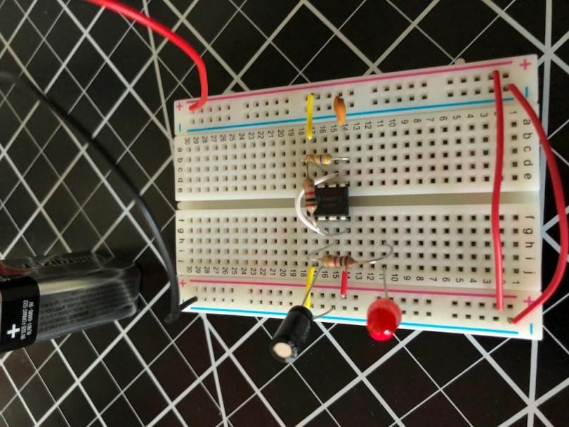 Blink 555 Circuit