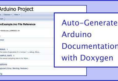 Doxygen For Arduino Graphic