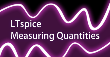 LTspice Measuring Quantities Graphic