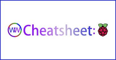 Raspberry Pi Cheatsheet Graphic