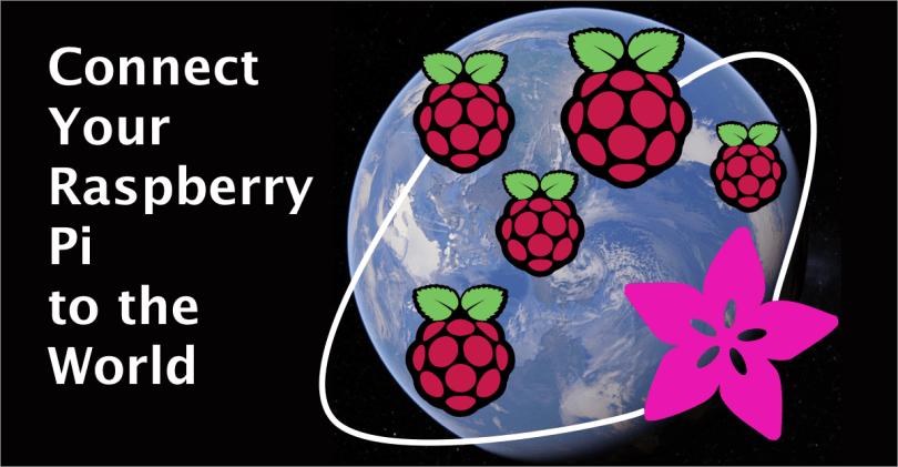 Raspberry Pi And Adafruit IO Graphic