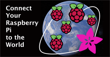 Raspberry Pi And Adafruit IO Graphic