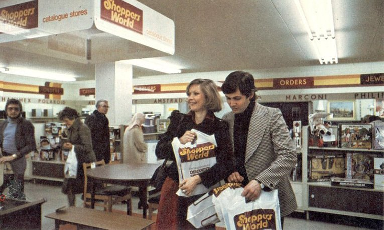 Shoppers World and Woolco Catalogue Shopping