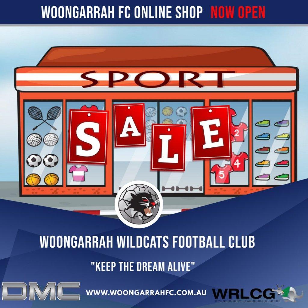Woongarrah Online Shop NOW Open