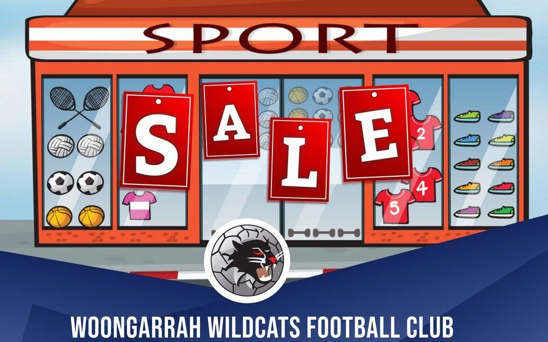 Woongarrah FC Online Shop NOW Open