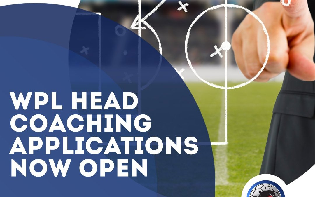 WPL Head Coach Applications are OPEN