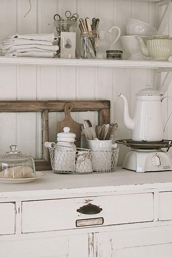 Keuken met vintage look  Wooninspiratie