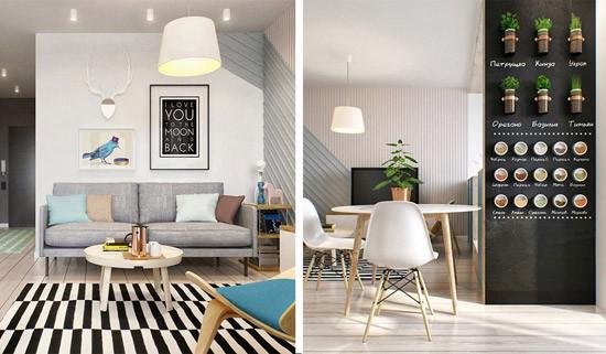 Klein appartement in Moskou  Wooninspiratie