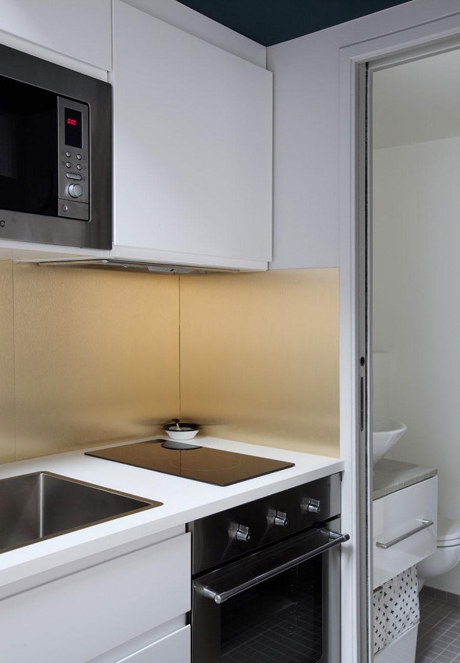 Klein appartement van 30m2 in Parijs  Wooninspiratie