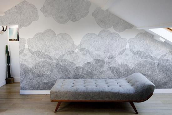 Mooi behang van Minakani Lab  Wooninspiratie