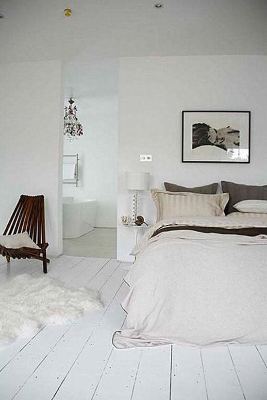 Mooie houten vloer in de slaapkamer  Wooninspiratie