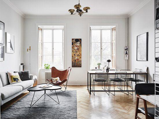 Prachtig Zweedse woonkamer  Wooninspiratie