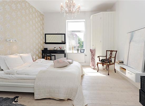 Witte slaapkamer  Wooninspiratie